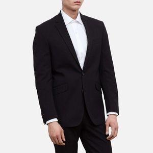 NWT Kenneth Cole Men's PINSTRIPE SUIT JACKET 38S